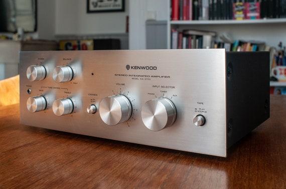 Kenwood KA-3700 Amp, a 1977 beauty