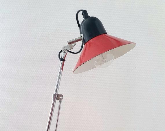 Red Aluminor Lamp