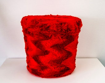 Pouf in Moumoute Pelfran from the 70s