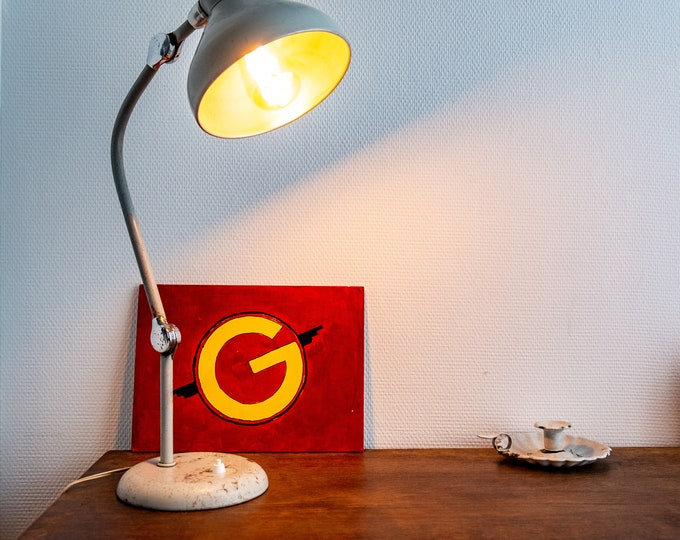60s JUMO GS1 office lamp