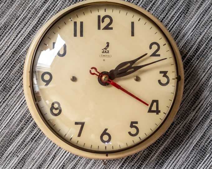 Very rare Air Jaz Electric Clock LIMIC from 1959