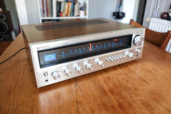 Ampli tuner Sanyo DCX 4000L, pure class 70's