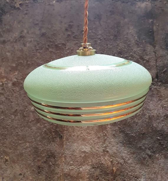 Art Deco pendant lamp
