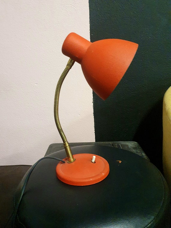 Red lamp to lay 1950/60