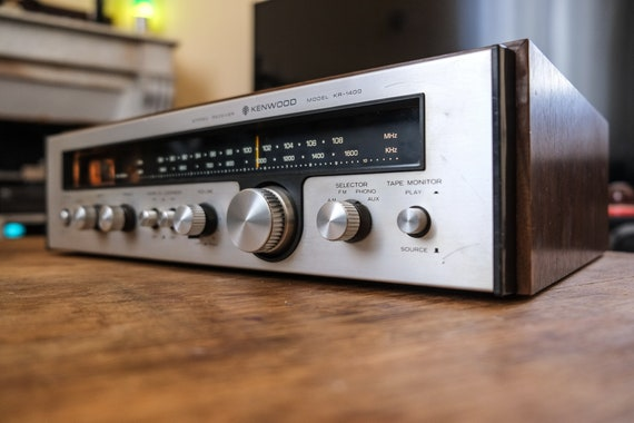 Kenwood KR-1400 Tuner Amp - 1975