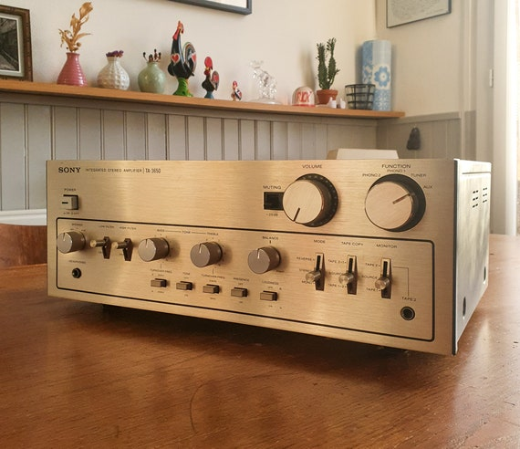 Superb Integrated Ampli Sony TA-3650 - 1978