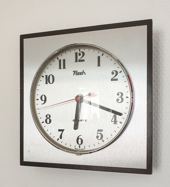Flash Clock France Quartz 70s