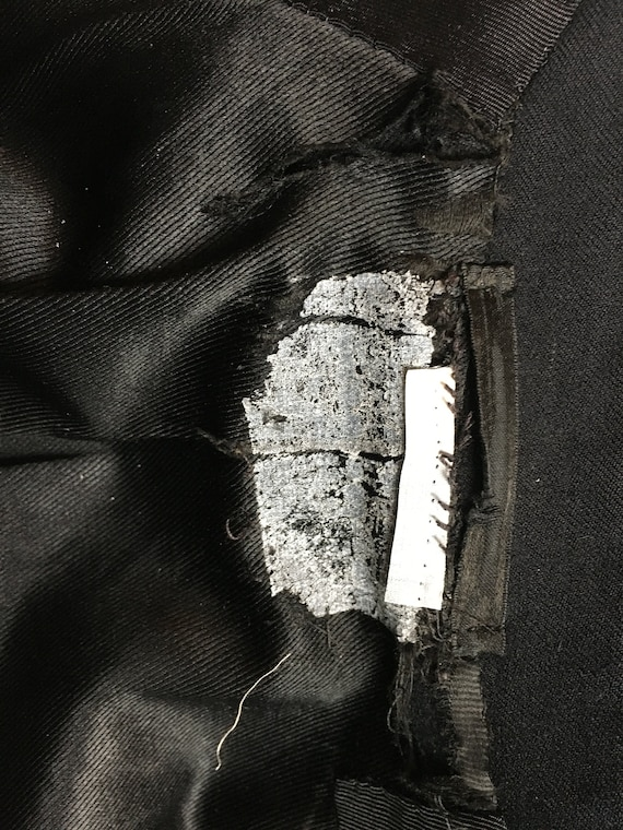 Black Vintage Tailcoat, 1930s Tailcoat, Steampunk… - image 4