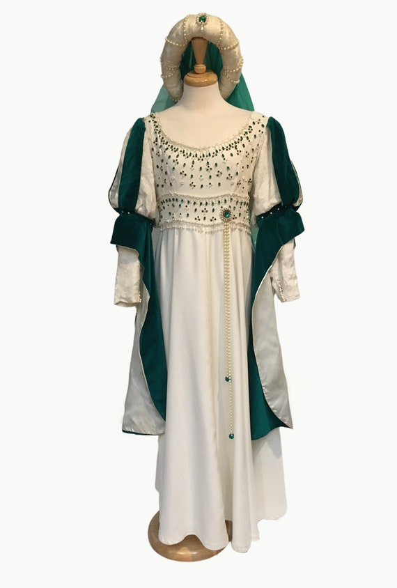 Medieval Gown, Larp Dress,  Renaissance Gown, Medi