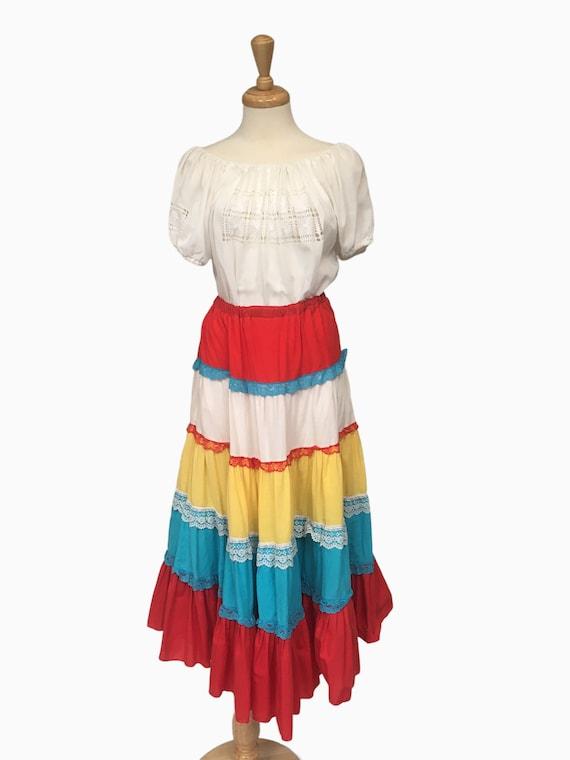 Petticoat, Circle Skirt, Cinco de Mayo, Mexican Sk