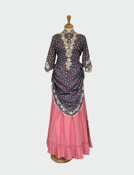 LARP Clothing, Victorian Bustle Dress, Steampunk B