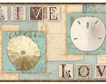 Seashell Wallpaper Etsy