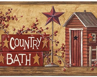 Country Wallpaper Etsy