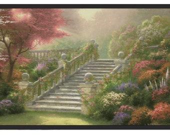 Thomas Kinkade Stairway To Paradise TK074218b