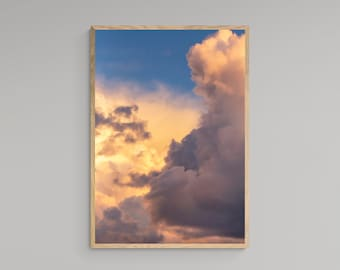 Colourful Clouds In The Sky – Wall Print – High Quality Lustre Print
