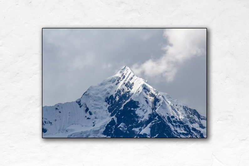 Mountain  Mount Veronica  Peru Travel Poster  Poster Print image 0