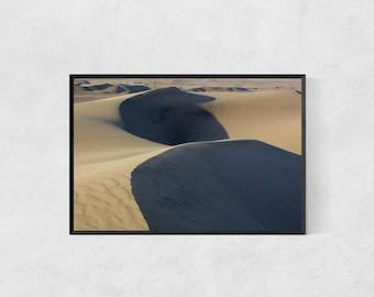 Sand Dunes Poster – High Quality Lustre Print
