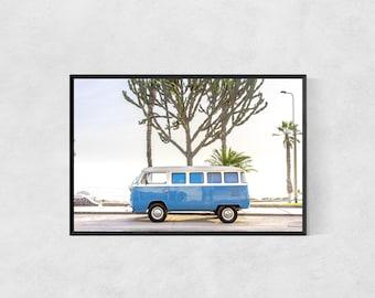 Westfalia Volkswagen Van Print – Adventure Travel Poster – High Quality Lustre Print