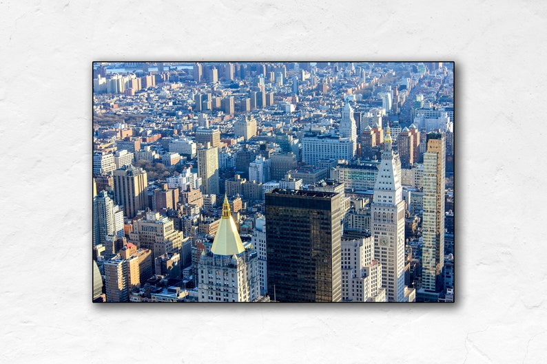 New York City  Blue Hour  United States Travel Poster  image 0
