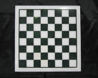 Marble chess board | Etsy
