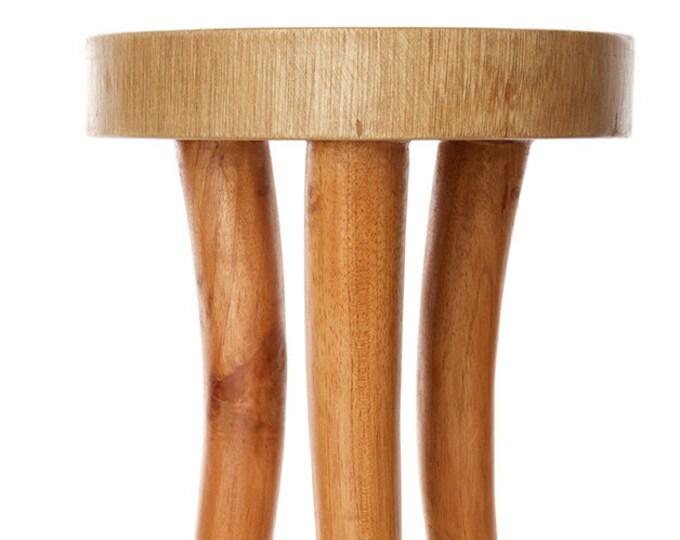 Cedrela Wood Tusk Accent Table