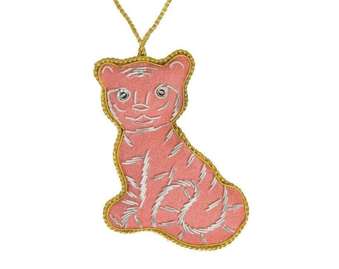 Felt Holiday Ornament Tiger - Matr Boomie (H)