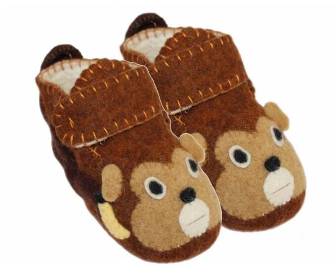 Monkey Toddler Zooties - Silk Road Bazaar