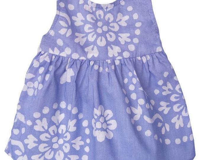 Baby Sundress Violet Paisley - Global Mamas (B)