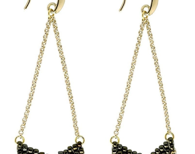 Earrings: Eve Verdant - Marquet (J)