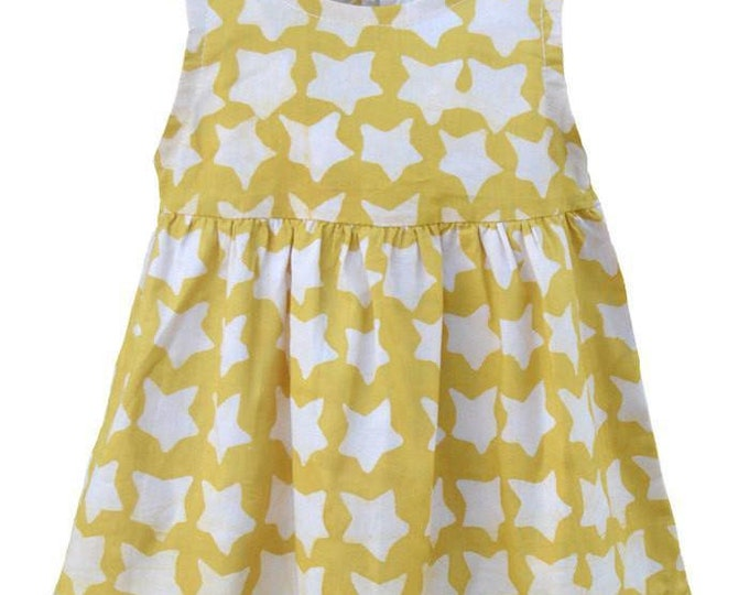 Baby Sundress Gold Stars - Global Mamas (B)