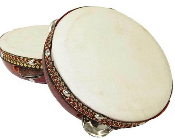 6-inch Frame Tambourine Drum - Jamtown World Instruments