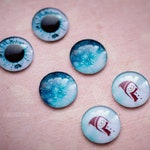 Blythe glass eyechips, Winter is coming