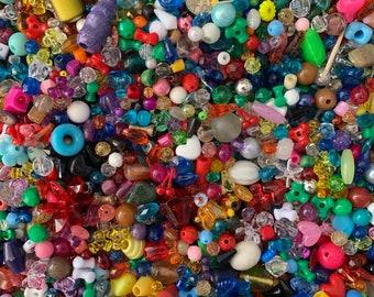 black blue 50 pieces 8 mm acrylic beads