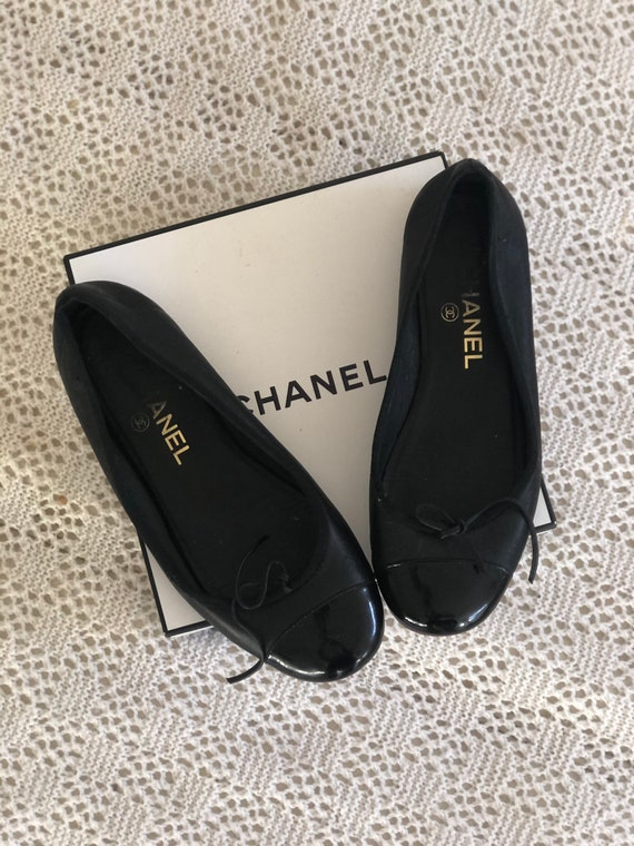 Auth CHANEL Ballet flats 6