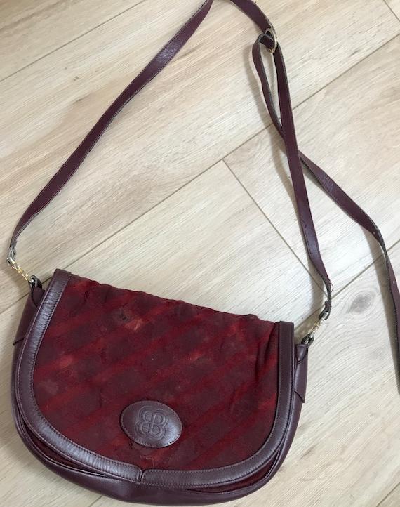 Auth BALENCIAGA vintage cross body bag