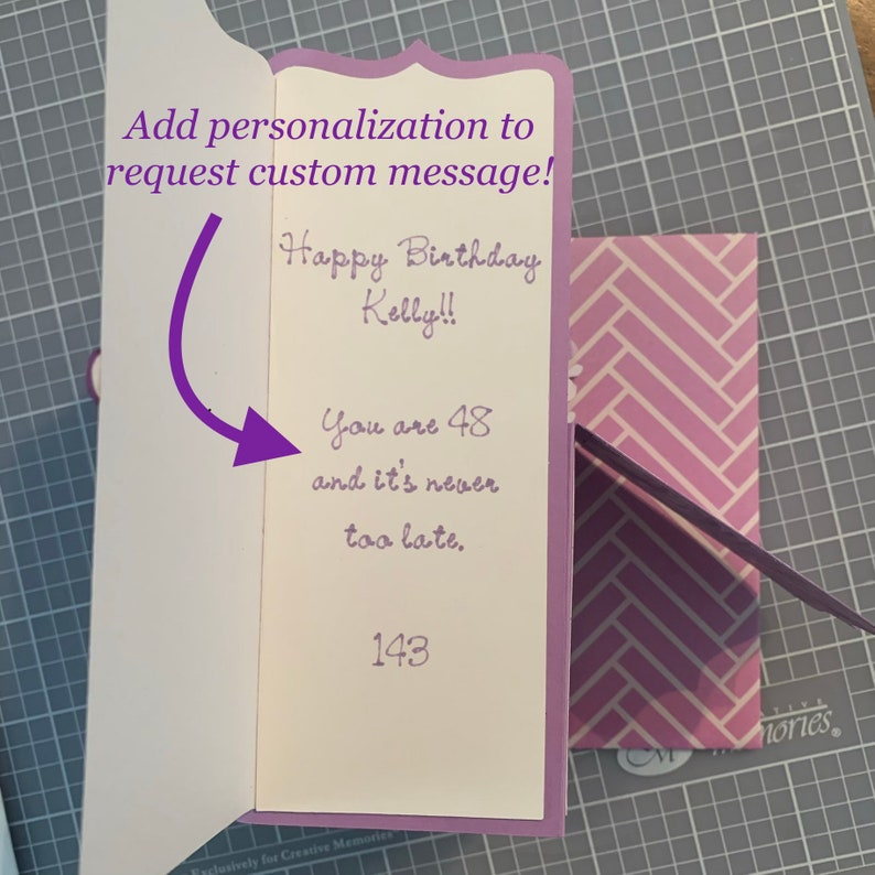 One of a kind mermaid birthday gift. Handmade Blonde Mermaid pop up 3D box card