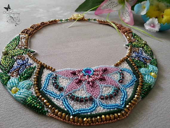 Mother\u2019s Day gift Beach bridesmaid gifts Seed bead shell necklace Boho bead choker necklace for women Gifts for mom Gift for teen girl