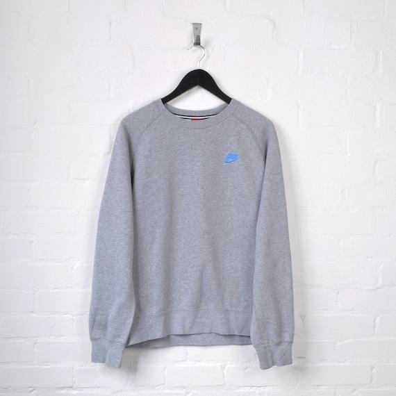 Nike Sweater Grey Large