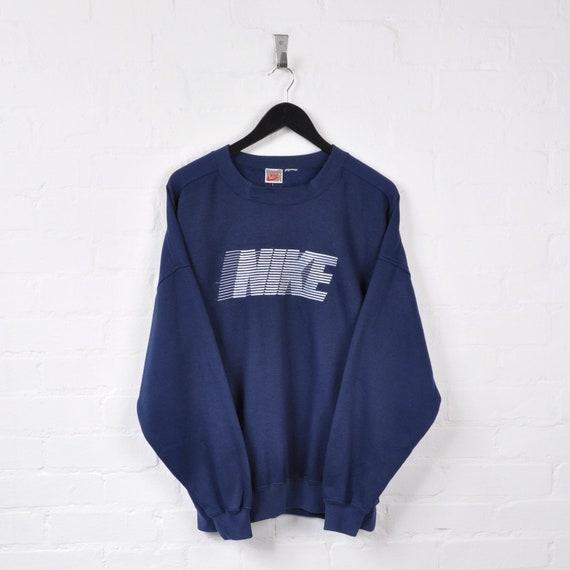 Nike Sweater Navy Large