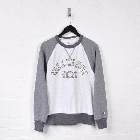 Champion Varsity Sweater Grey Small