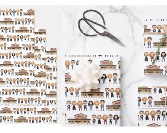 Funny Wrapping Paper - Geek Gift Wrap