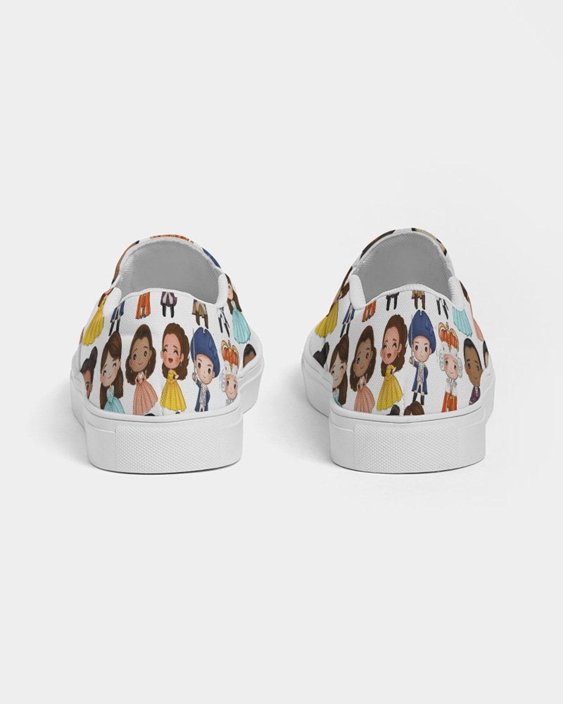 Hamilton Inspired Zapato de lona Slip-On para Mujer