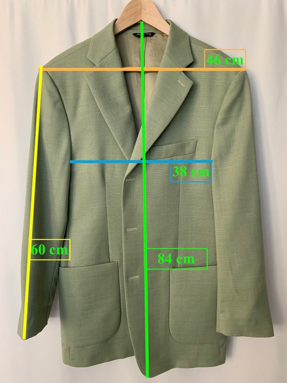 Vintage Oversized Linen Blazer - image 10