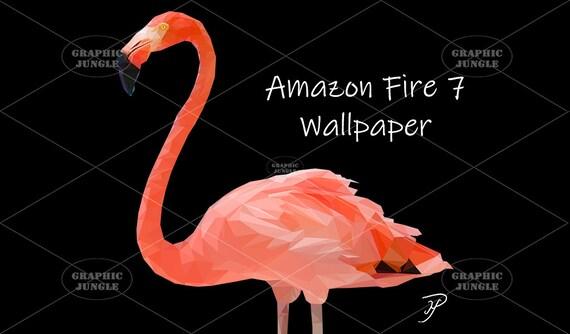 Flamingo By Mike Payne Amazon Tablet Fire 7 Wallpaper 1024 X 600 Pixels