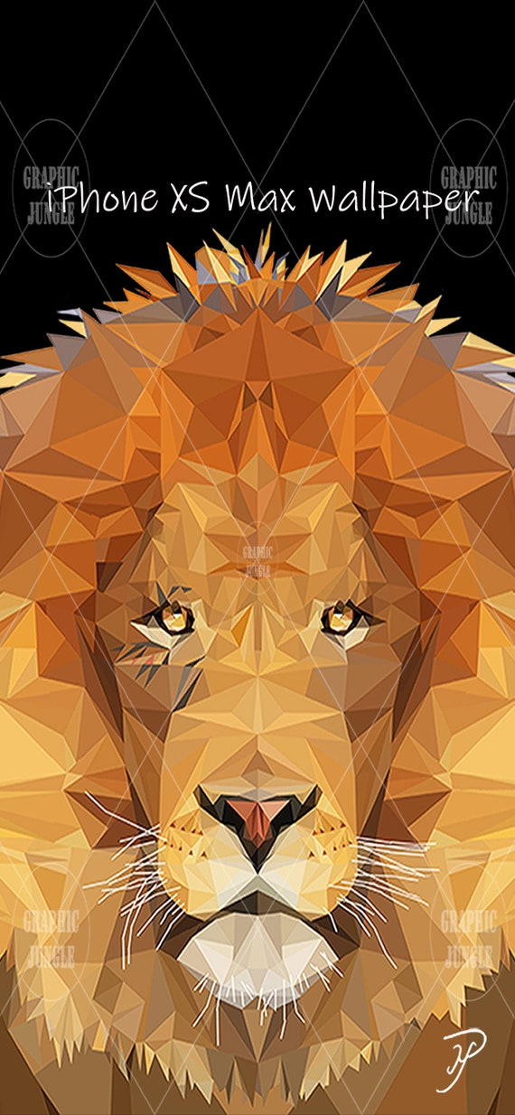 Lion By Mike Payne Iphone Xs Max Wallpaper 2688 X 1242 Pixels