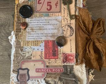 Vintage Junk Journal Book