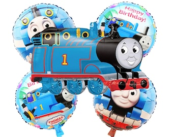 Pleasing Thomas The Train Birthday Decorations Etsy Home Interior And Landscaping Sapresignezvosmurscom