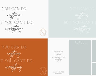 Desktop Backgrounds for Brides - Planning a Wedding - Set of 6 Desktop Backgrounds for Busy Brides - Organize Your Thoughts & Wedding