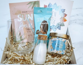 Cute and Thoughtful Care Package - Life's Tough But So are You - Sunshine in a Box - Gift for a Friend - Perfect Pick Me Up for Them