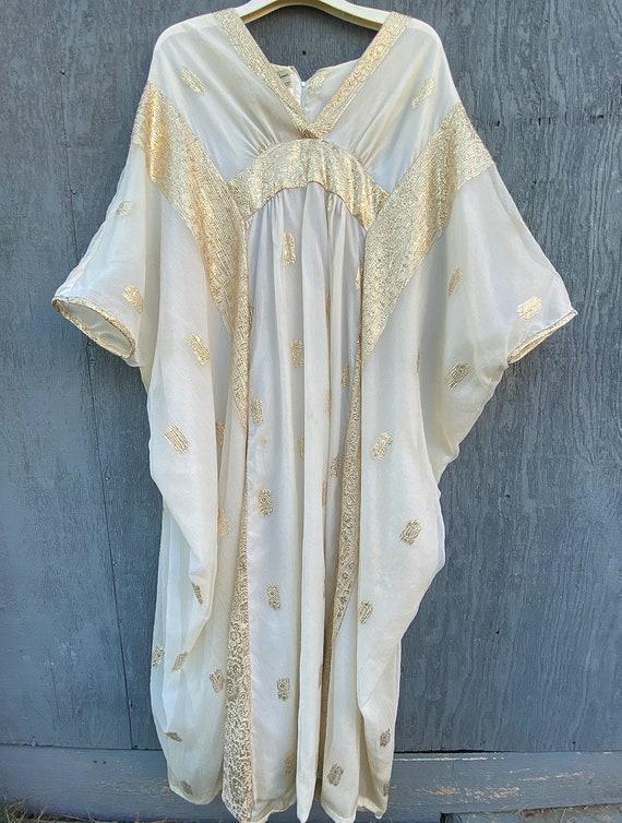 70s Saks Gown, Vintage Gown, Goddess, Angel, Model